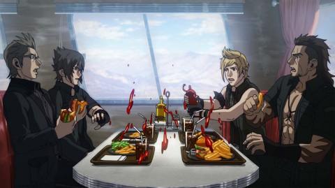 Brotherhood Final Fantasy XV repas