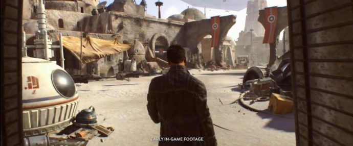 Capture ecran star wars teaser e3