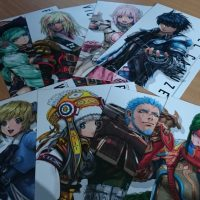 Collector Star Ocean 5 carte des personnages