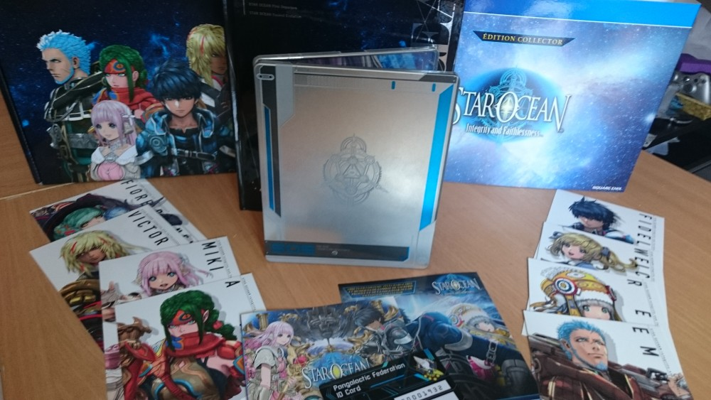 Collector Star Ocean 5 ensemble