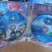 Collector Star Ocean 5 steelbook intérieur