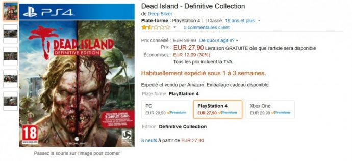 Promo Dead Island - Definitive Collection
