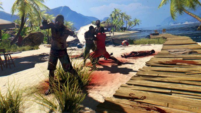 Dead Island survivant dévoré par des zombies