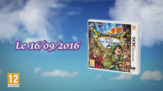 Dragon Quest VII date de sortie