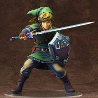 Link prend la pose