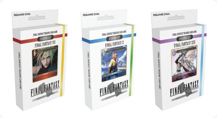 Final Fantasy Trading Card deck de départ