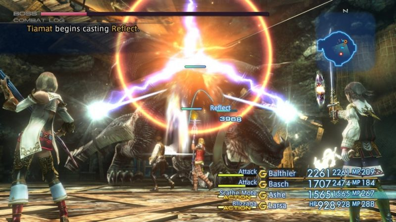 Final Fantasy XII the Zodiac Age phase de combat