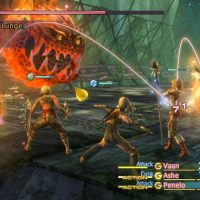 Final Fantasy XII the Zodiac Age combat en groupe