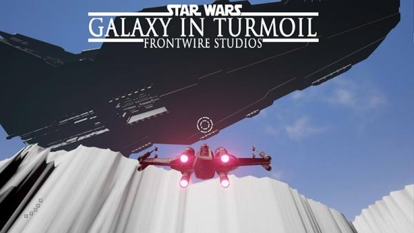 Vaisseau Xwing Galaxy in Turmoil