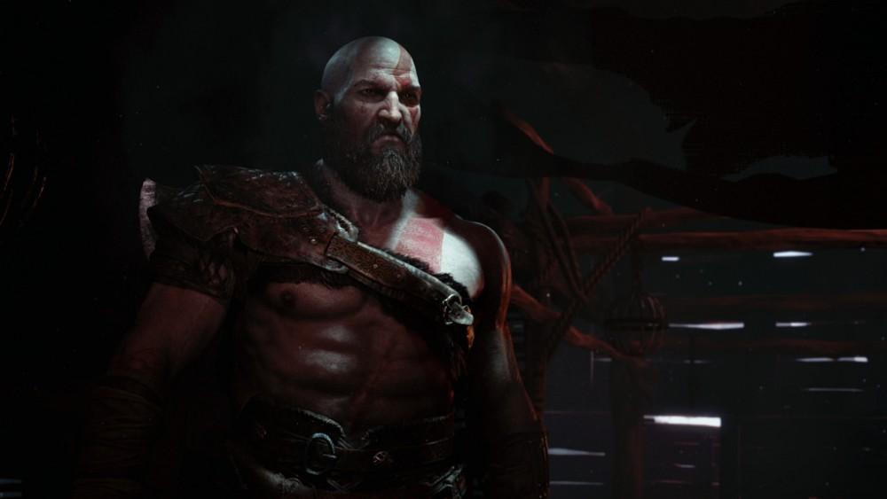 God of War Kratos à bien vieilli