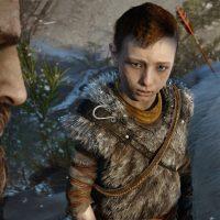 God of War Kratos et son fil