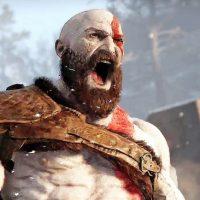 God of War Kratos en colére