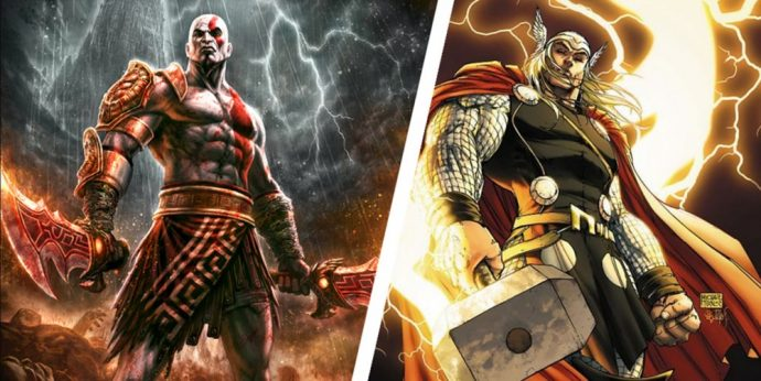 God of War IV X Thor