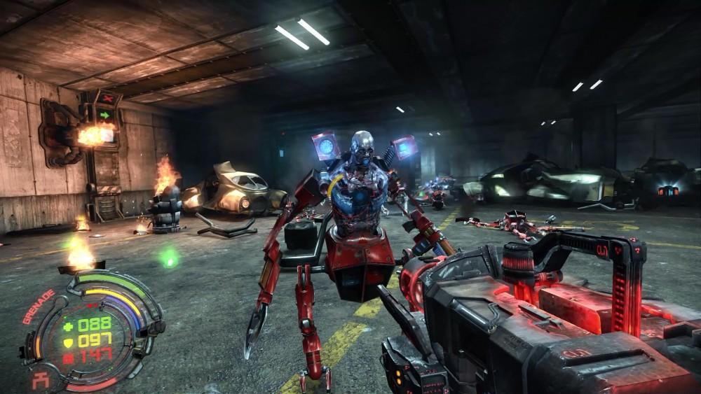 Cyborg dans hard reset redux