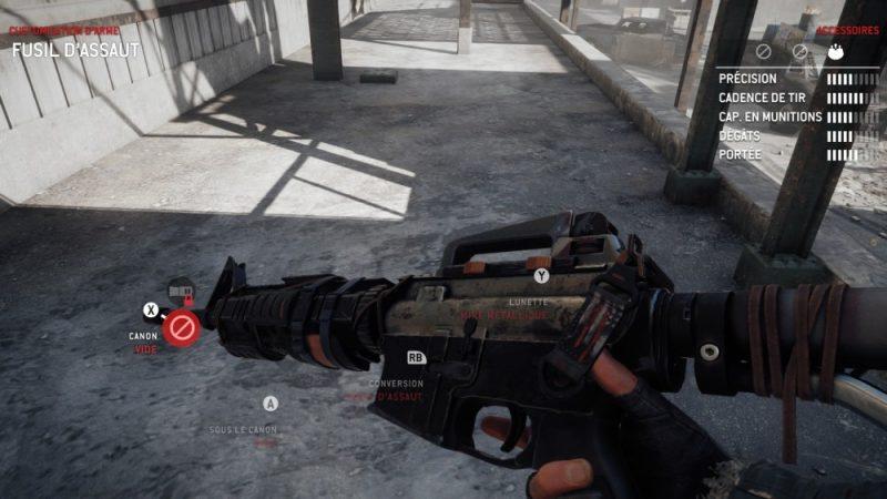 arme dans Homefront