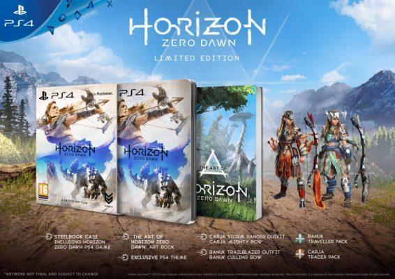 L'édition limitée de Horizon Zero Dawn