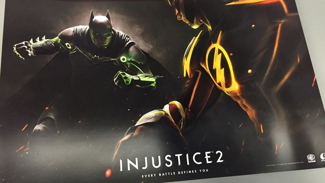Poster promotionnel de Injustice 2
