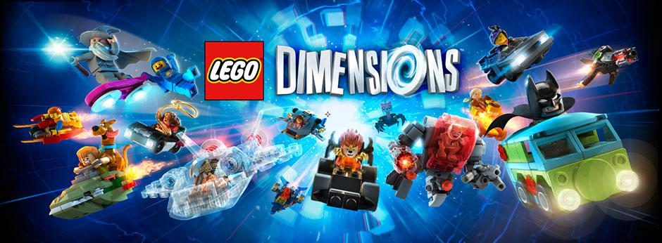 Lego dimensions bannière