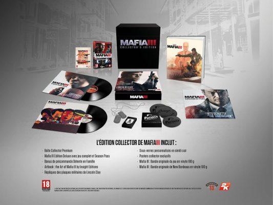 Voila ce que renferme l'édition collector de Mafia 3