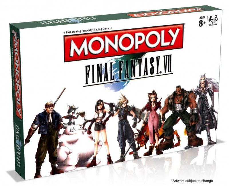 Boîte Monopoly Final Fantasy VII