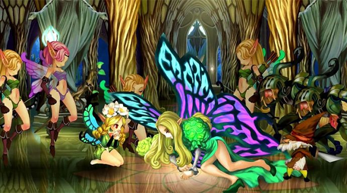 Odin Sphere Leifthrasir moment difficile pour Mercedes