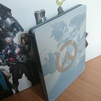 Overwatch collector SDteelbook face