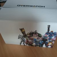 Overwatch collector boite interieur dos