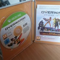 Overwatch collector steelbook interieur