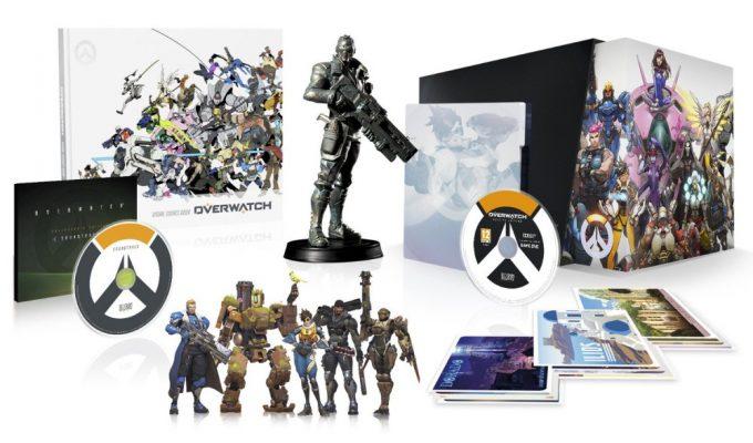 Overwatch contenu de l'édition collector