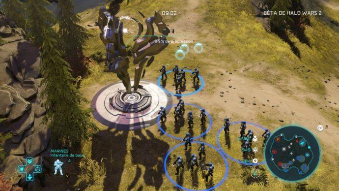 Halo Wars 2 point de contrôle du mode Domination