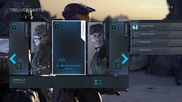 Halo Wars Choix race