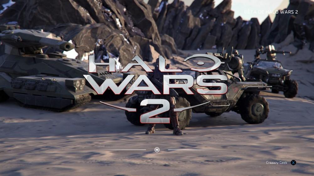 Halo Wars 2 écran titre