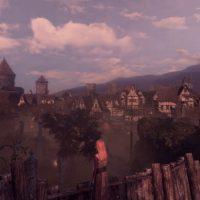 Shadwen devant la ville du jeu