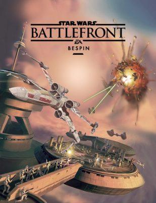 Visuel du DLC Bespin de Star Wars Battlefront