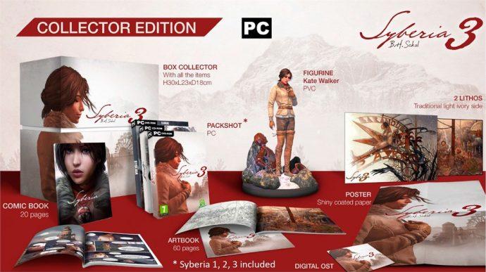 Syberia 3 Collector Edition PC