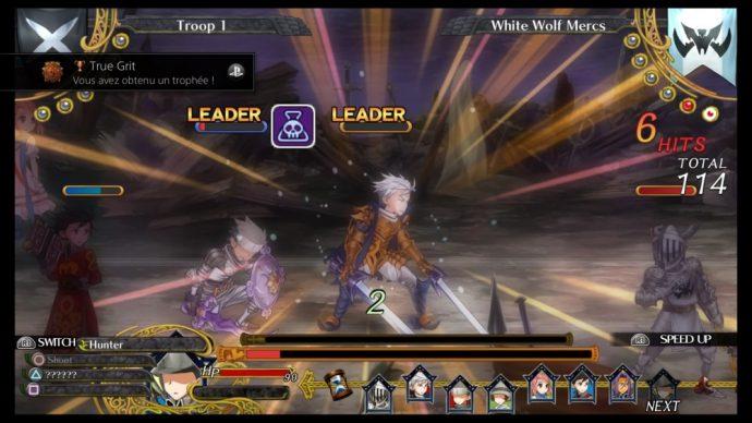 Grand Kingdom : phase de combat