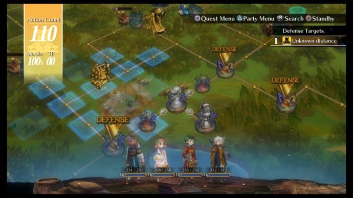 Grand Kingdom : le champ de bataille