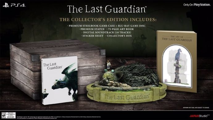 The Last Guardian collector