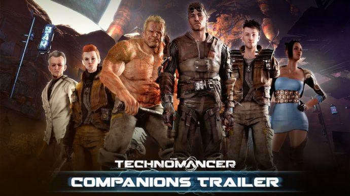 The Technomancer compagnons