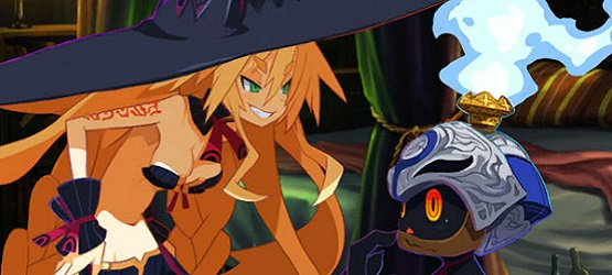 Metallia et son Hundred Knight dans The Witch and the Hundred Knight Revival Edition