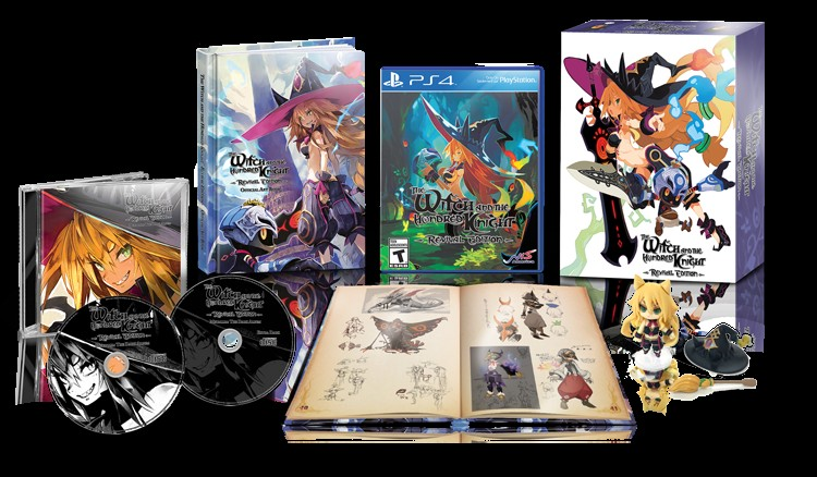 The Witch and the Hundred Knight Revival Edition collector