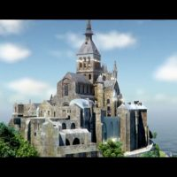 Le mont Saint-Michel dans Tour de France 2016