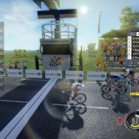 Le lancer de vélo dans Tour de France 2016