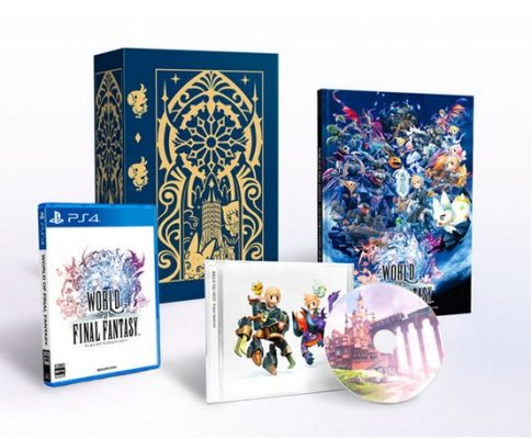 World of Final Fantasy Collector Japonais PS4