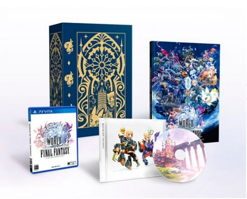 World of Final Fantasy Collector Japonais Vita