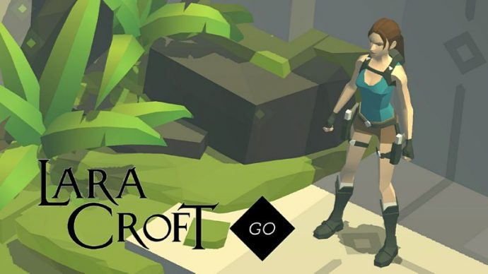 Lara Croft go mobile square enix