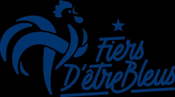 Foot logo des Bleus 2016