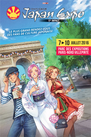 Japan Expo 2016 affiche d'annonce