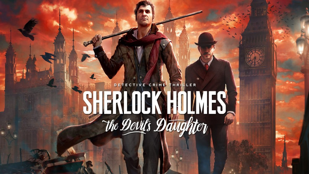 Visuel de Sherlock Holmes: The Devil's Daughter