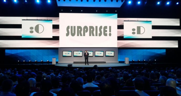 Surprise pour la Wii U